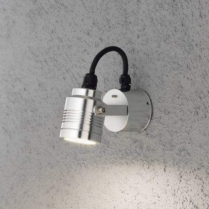 Vägglykta Monza LED aluminium-14150