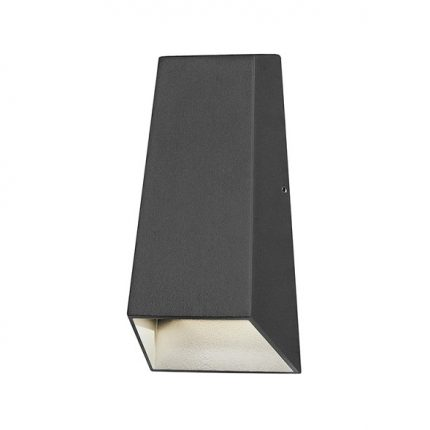Vägglykta Imola mörkgrå LED-0
