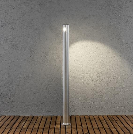 Pollare Monza 2x3W LED aluminium-14248