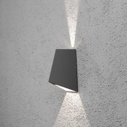 Vägglykta Imola LED mörkgrå-14272