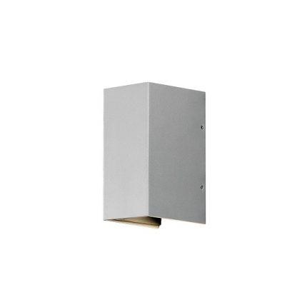Vägglykta Cremona grå LED-0