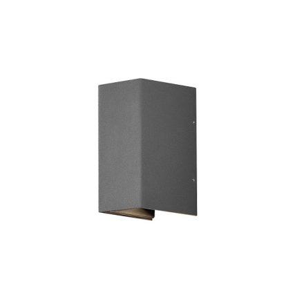 Vägglykta Cremona mörkgrå LED-0
