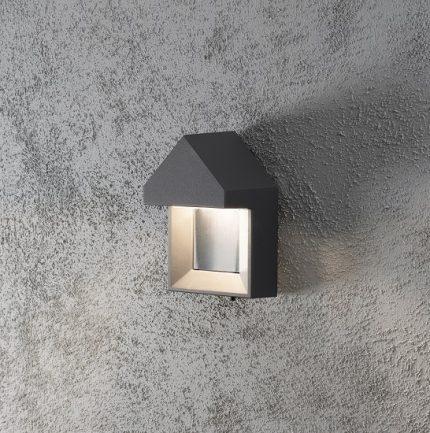 Vägglykta Cosenza 5W LED mörkgrå-14388