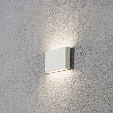 Vägglykta Chieri 2x6W LED vit-14428