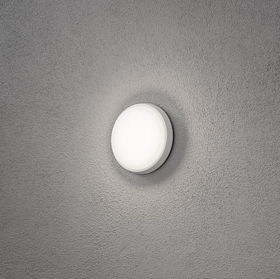 Vägglykta Cesena rund LED-14436