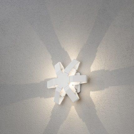 Vägglykta Pescara LED stjärna vit-14444