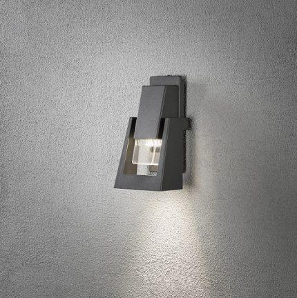 Vägglykta Potenza GU10 mörkgrå-14464