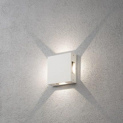 Vägglykta Cremona vit LED-12292