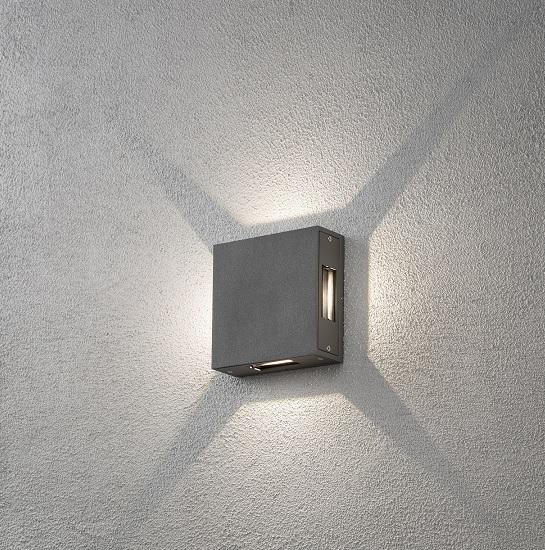 Vägglykta Cremona 4x3W LED-12296