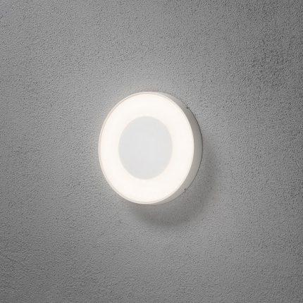 Vägglykta Carrara rund LED-14479