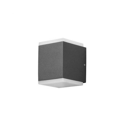Vägglykta Monza LED mörkgrå-0