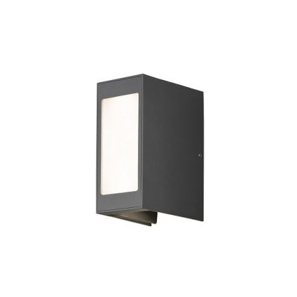 Vägglykta Crremona LED mörkgrå-0