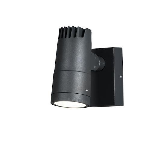 Vägglykta Adria LED mörkgrå-0