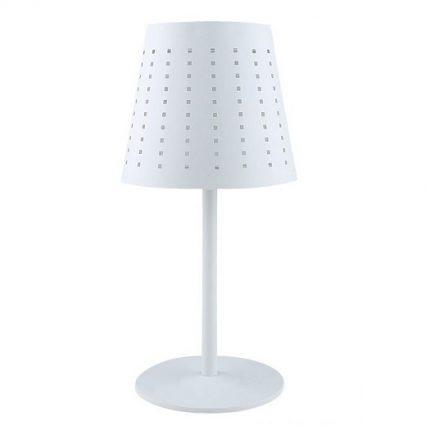 Solcellslampa Alvar vit-0