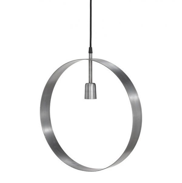 Atmosphere taklampa Pale Silver 30cm-0