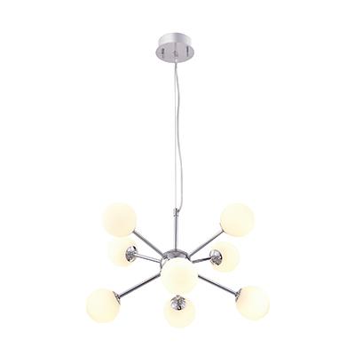 Taklampa Atomic krom 45 cm-0