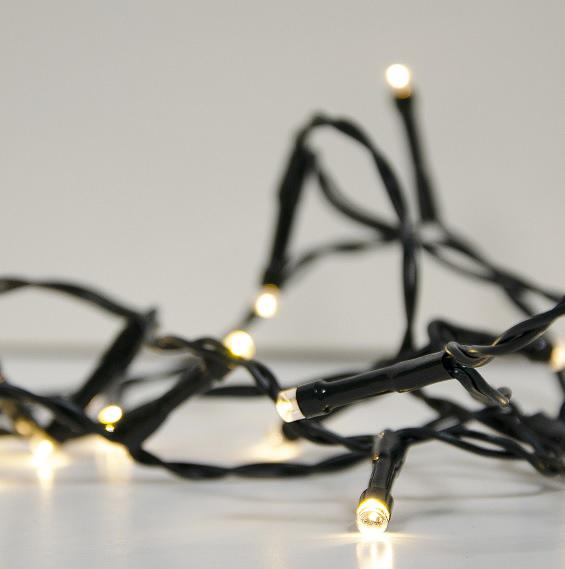 Ljusslinga 9 m varmvit LED-0