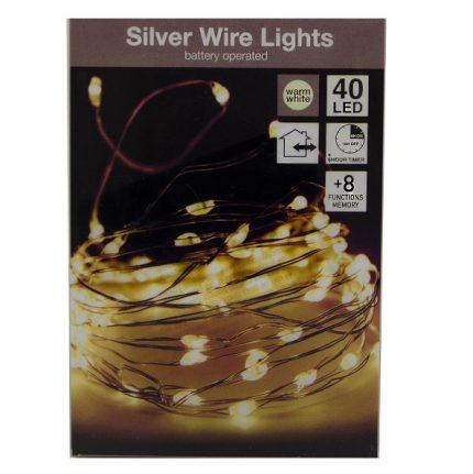 Ljusslinga 40 LED batteridriven-0