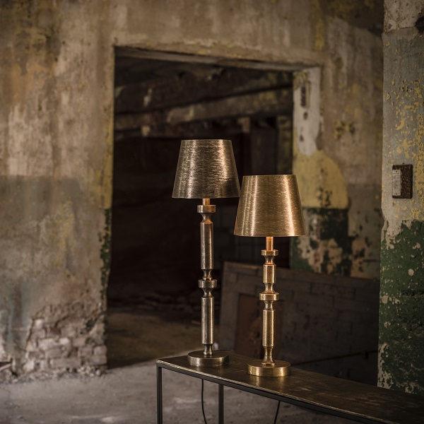 Mia Metall Lampskärm Råmässing 17cm-11673