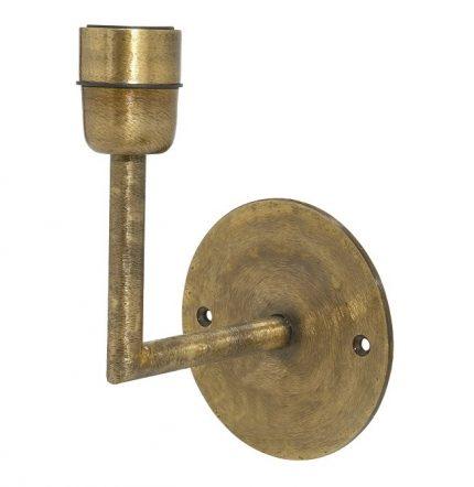 Base Vägglampa Beaten gold 13cm-0