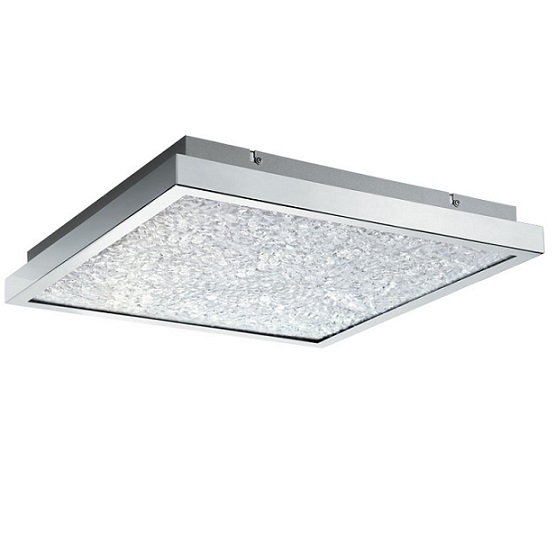 Plafond Cardito LED 44X44 krom-0