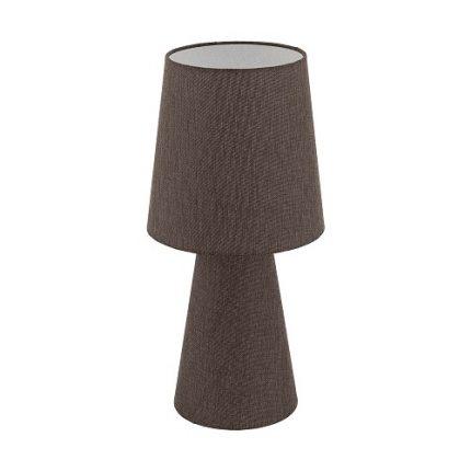 Bordslampa Carpara Höjd 47 cm brun -0