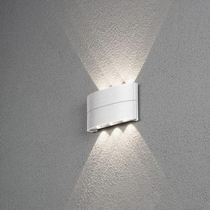 Vägglykta Chieri LED vit-0