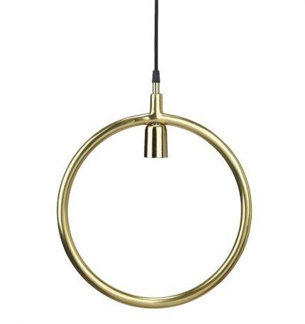 Circle taklampa Guld 35cm-0