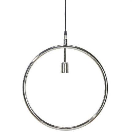 Circle taklampa Krom 45cm-0