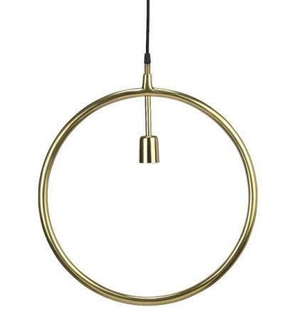 Circle taklampa Guld 45cm-0