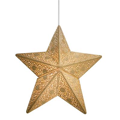Fönsterstjärna Etoile 30cm guld -0