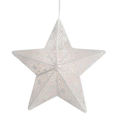Fönsterstjärna Etoile 30cm vit-0