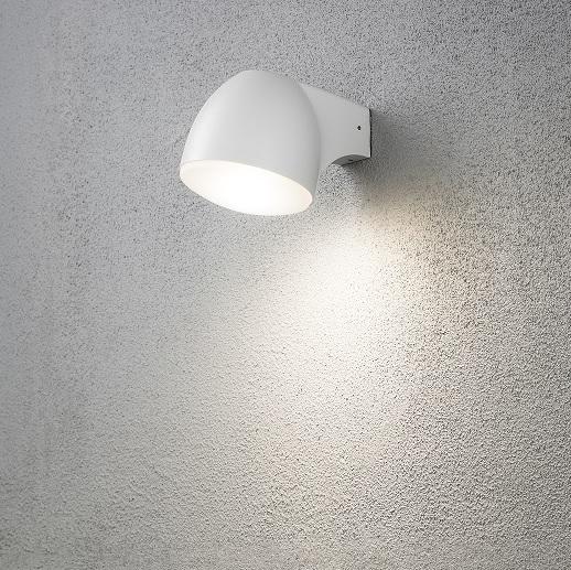 Vägglykta Ferrara vit LED 4W-15598