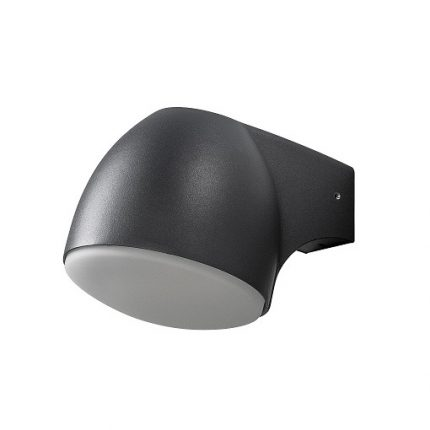 Vägglykta Ferrara svart LED 4W-0