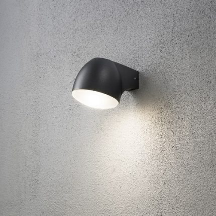 Vägglykta Ferrara svart LED 4W-15600