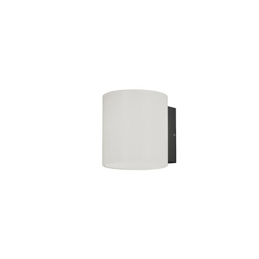 Vägglykta Foggia LED mörkgrå-0