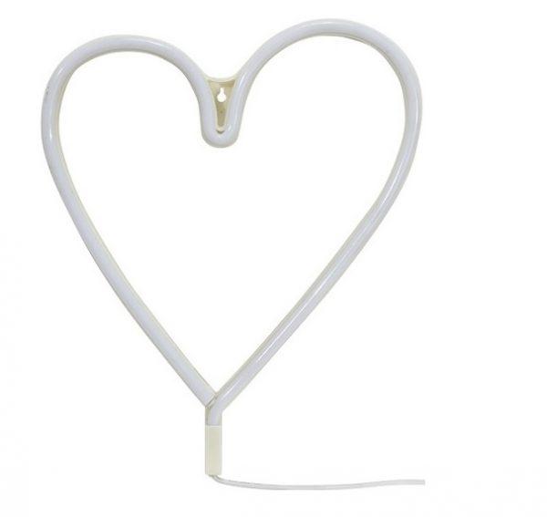 Vägglampa hjärta LED-0