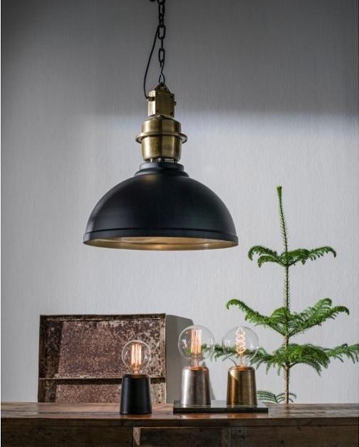 Icon Table Lamp Råsilver 12cm-11704