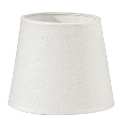 Vägglampa Classic Silver, Inkl skärm Mia 14cm offwhite lin-11624