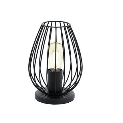 Bordslampa Newton svart/vit-0