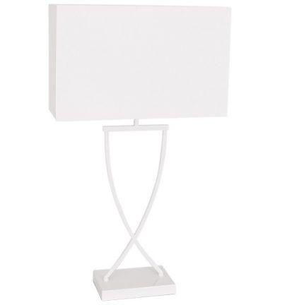 Bordslampa Omega vit h 69 cm-0