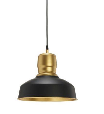 Taklampa Paddington MattSvart/Guld 31cm-0