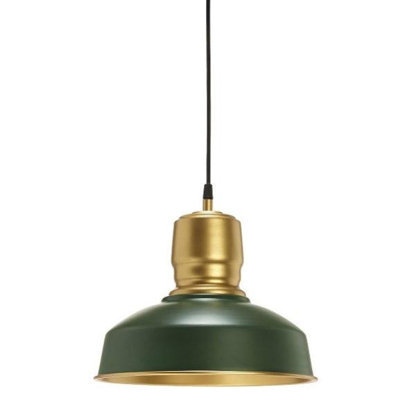Taklampa Paddington Grön/Guld 31cm-0
