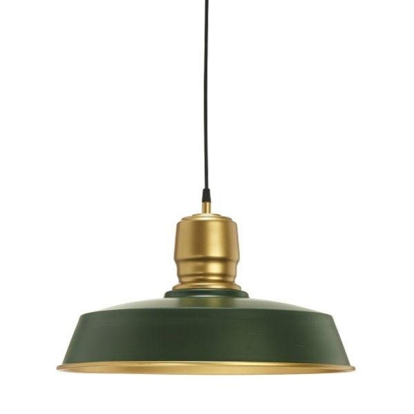 Taklampa Paddington Grön/Guld 46cm-0