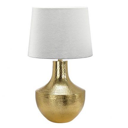 Paket art. Vasa 44cm guld, Inkl Skärm Sofia 35cm offwhite sammet-0