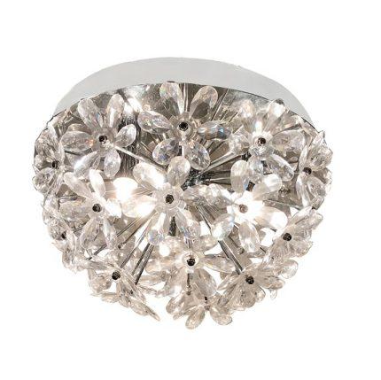 Plafond Paula kristall krom-0