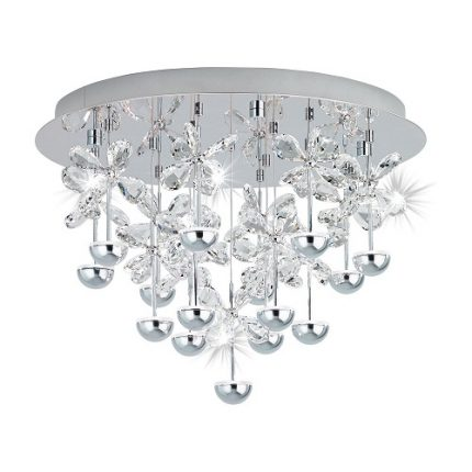 Plafond Pianopoli LED 15L Dia 50 cm krom-0