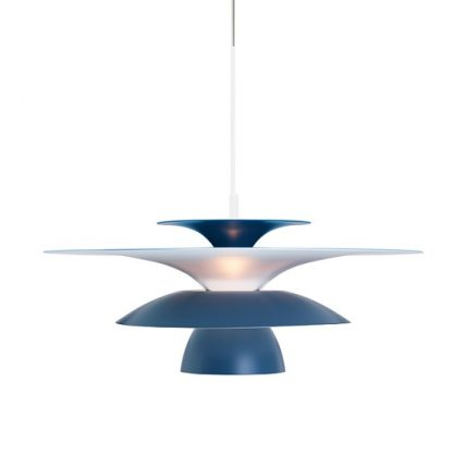 Taklampa Picasso duvblå LED-0