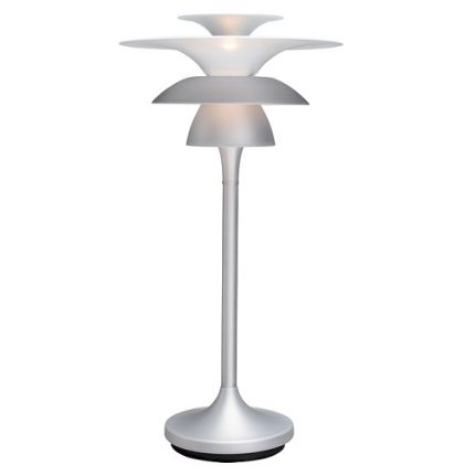 Bordslampa Picasso silveroxid LED-0