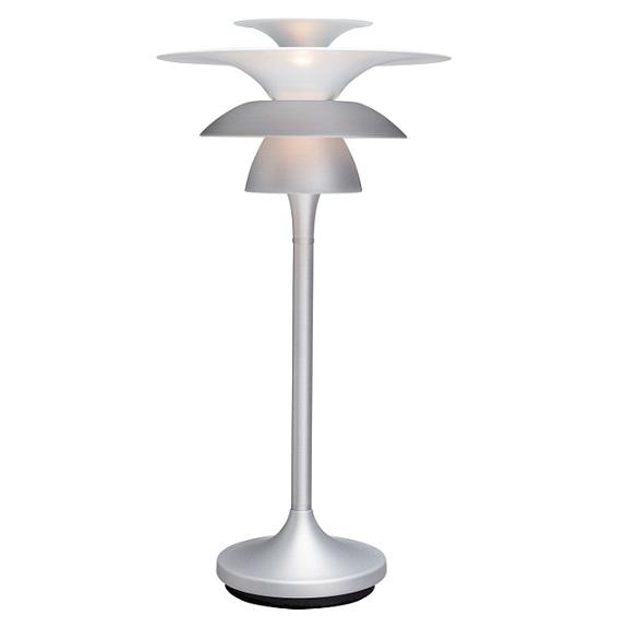 Bordslampa Picasso silveroxid LED-0